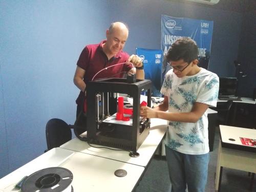Arpa Láser, Impresión 3D en el CTLab, Alejandro Mendoza